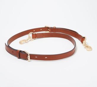 Dooney & Bourke Leather Adjustable Crossbody Strap