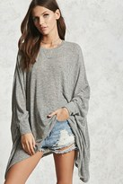 Forever 21 Oversized Marled Knit Top