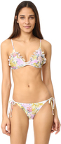 Zimmermann Valour Embroidery Frill Bikini