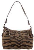 Fendi Leather-Accented Shoulder Bag