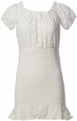 ASTR the Label Women's Off-The-Shoulder Elbow Length Sleeve Desi MII Dress