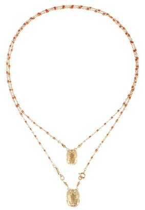 Gas Bijoux Scap Scara necklace