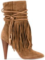Ash fringed boots