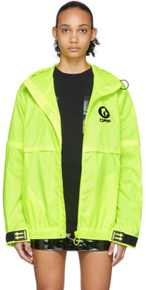 Off-White Yellow WR Top Shell Jacket