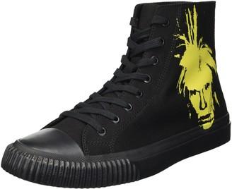 Calvin Klein Jeans Men's Iconic Canvas/Warhol Print 1 Sneaker