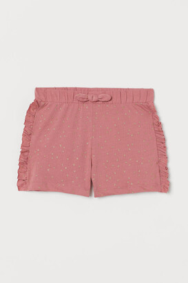 H&M Frill-trimmed shorts