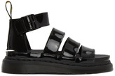 Dr. Martens Black Patent Clarissa II Sandals