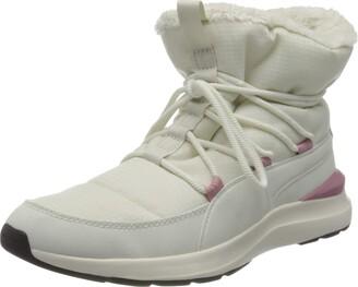 Puma Women's Adela Winter Boot Snow Black-Bridal Rose 4.5 UK