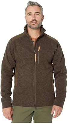 Fjallraven Singi Fleece Jacket (Dark Olive) Men's Clothing