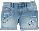 Crazy 8 Patch Jean Shorts
