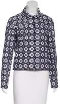Louis Vuitton Patterned Button-Up Jacket