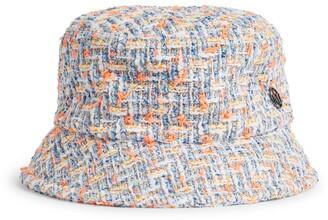 Maison Michel Axel Tweed Bucket Hat