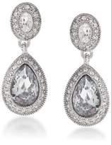 Carolee Pave Stone Drop Earrings