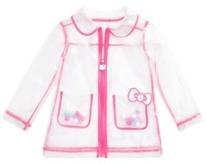 Hello Kitty Little Girls See-Through Rain Jacket