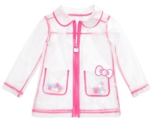 Hello Kitty Toddler Girls See-Through Rain Jacket
