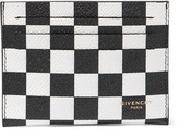 Givenchy Printed Pebble-Grain Leather Cardholder