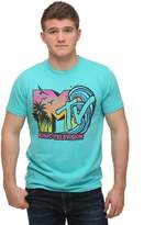 Junk Food Clothing mens MTV Logo Beach Wave Men's T-Shirt