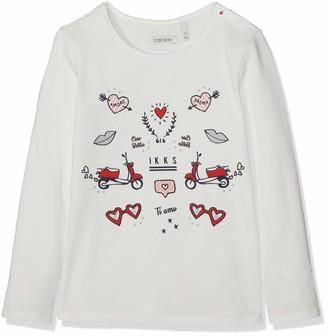 Ikks Junior Girl's Tee Shirt Ml Animation T