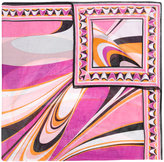 Emilio Pucci striped beach sarong - women - Cotton - One Size