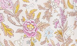 Topshop Floral Cutout Midi Dress