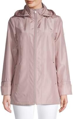 London Fog Printed Full-Zip Jacket