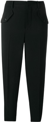 No.21 cropped cargo trousers