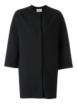 Humanoid Black Cotton Coats