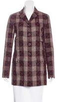 Chanel Plaid Short Coat