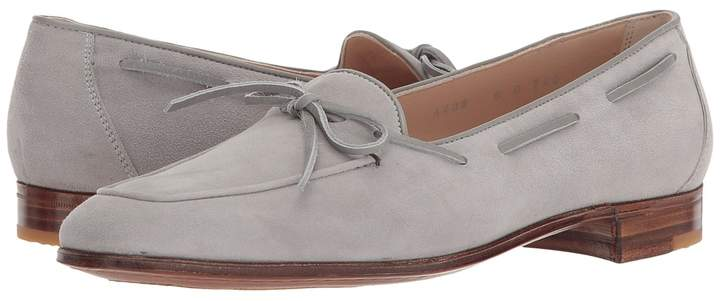 Gravati Bowed Velukid Slip-On Loafer Women's Slip on Shoes