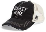 Original Retro Brand Men's Whiskey & Me Trucker Hat - Black