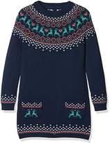 Fat Face Girl's Fairisle Knitted Dress,(Manufacturer Size: 4-5)
