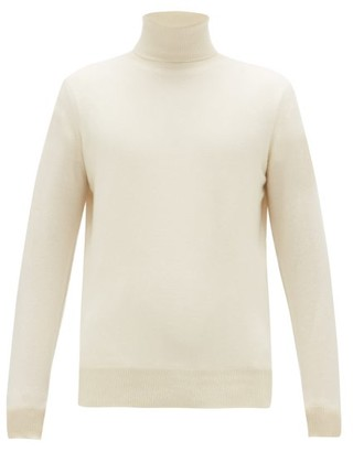 Raey Roll-neck Cashmere Sweater - Ivory
