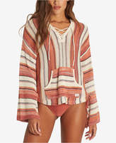 Billabong Juniors' Baja Beach Cotton Striped Hoodie