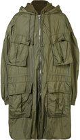 Juun.J hooded military jacket - men - Cotton/Nylon/Polyester - 46