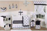JoJo Designs Sweet Princess Crib Bedding Collection in Black/White