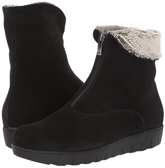 La Canadienne Tess (Black Suede) Women's Boots