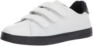 Tretorn Women's CARRY2 Shoe White Leather Black Sole 4.5 M US