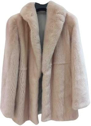 Santi Nello Pink Mink Jacket for Women