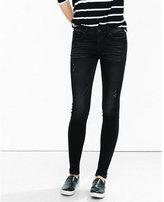 Express super soft black mid rise jean legging