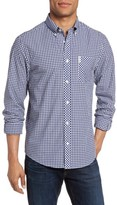 Ben Sherman Men's Mod Fit Gingham Sport Shirt