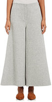 Theory Women's Henriet Wool-Cashmere Gauchos-DARK GREY