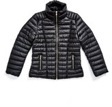 GUESS Factory Faux-Leather Puffer Jacket (7-16)