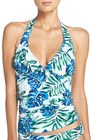womens tommy bahama fronds floating reversible halter tankini top