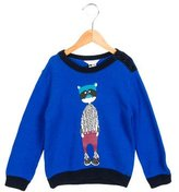 Little Marc Jacobs Boys' Printed Knit Sweater w/ Tags
