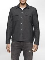 Calvin Klein Bonded Knit Trucker Jacket