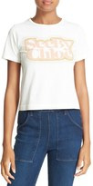 See by Chloe Women's Logo Graphic Tee