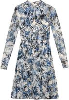 Erdem Devika Hill Garden-print silk-chiffon dress