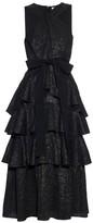 Erdem Luzia daisy-brocade ruffled dress