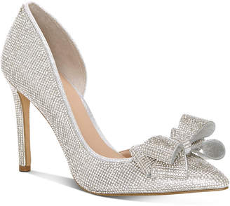 INC International Concepts Inc Women Karee Bling Bow d'Orsay Pumps, Women Shoes