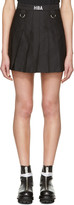 Hood by Air Black Schoolgirl Miniskirt